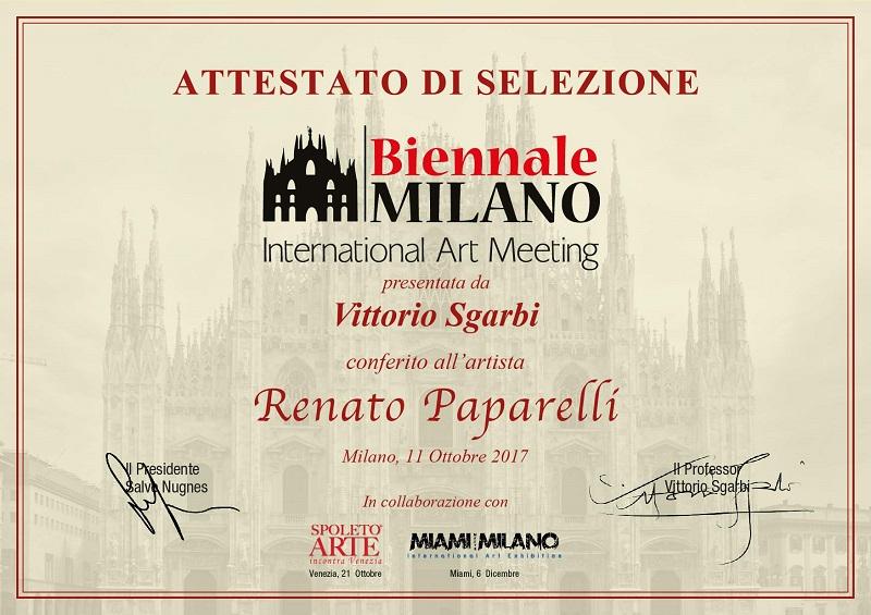 Biennale-Milano-ottobre-2017-attestato-selezione-paparelli