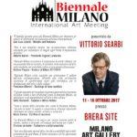Biennale Milano 2017 Locandina