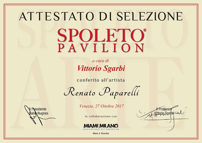 Spoleto Arte incontra Venezia 2017 Paparelli Renato